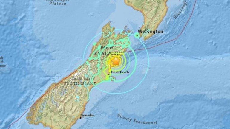 Tsunami warning issued after 7.4 magnitude earthquake hits New Zealand