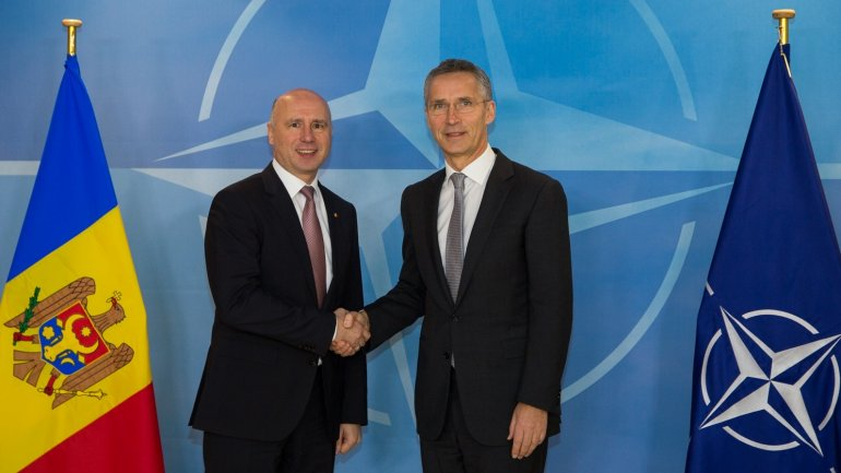 Prime Minister Pavel Filip on opening of NATO office in Chisinau