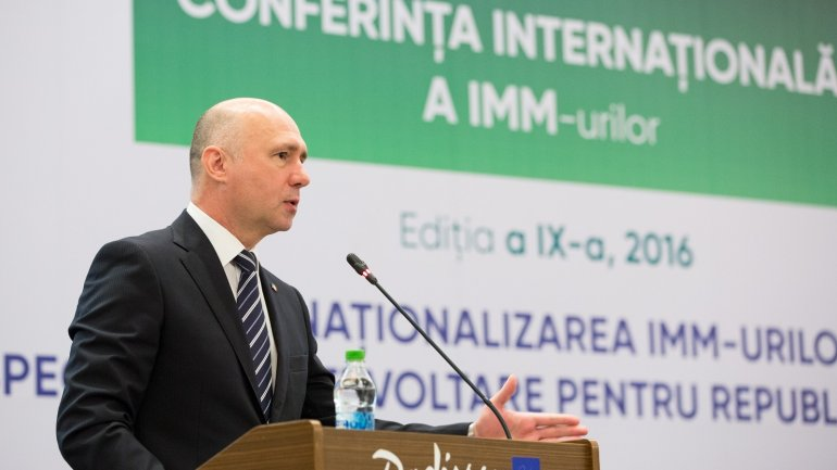 Pavel Filip on role of SME's in development of national economy