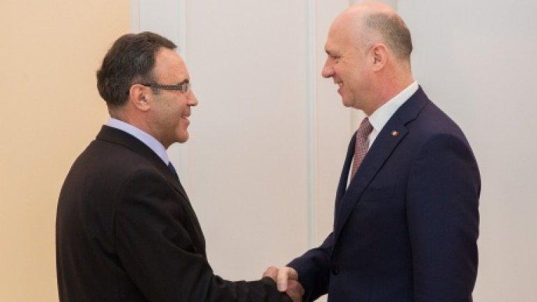 PM Pavel Filip held meeting with Ukraine ambassador, Ivan Gnatisin