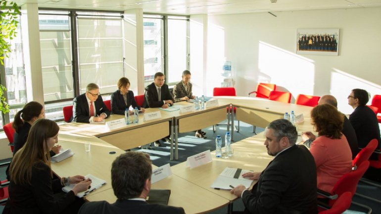 Prime minister meets European Commission Vice-President for Euro and Social Dialogue