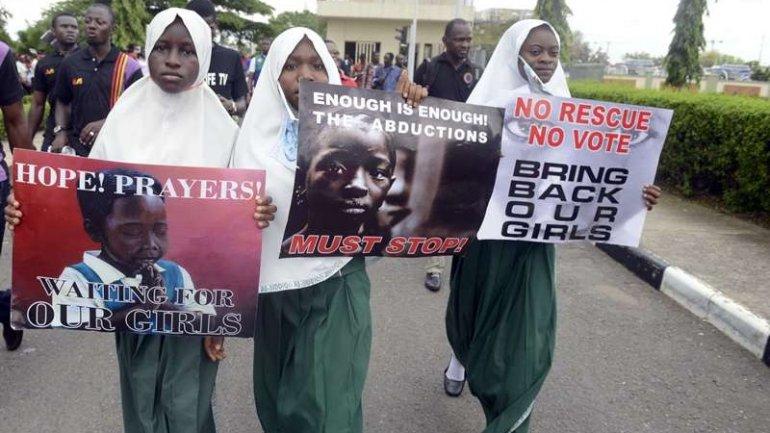 Girls freed from Boko Haram tell stories horrifying Nigerian president
