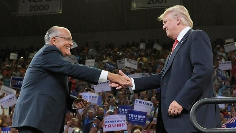 Former New York mayor Rudy Giuliani favorite to be Donald Trump's secretary of state