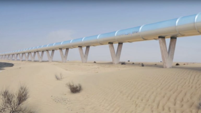 Hyperloop train to travel from Dubai to Abu Dhabi in 12 minutes