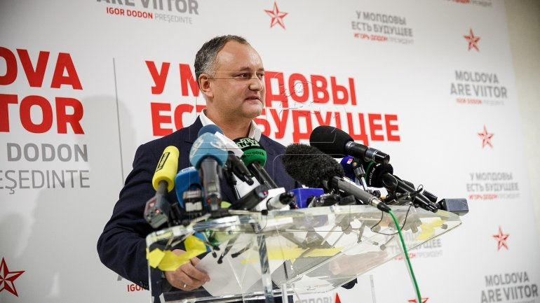 First actions of Igor Dodon as president elect