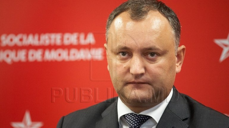 Igor Dodon is third Moldovan president elected directly by people