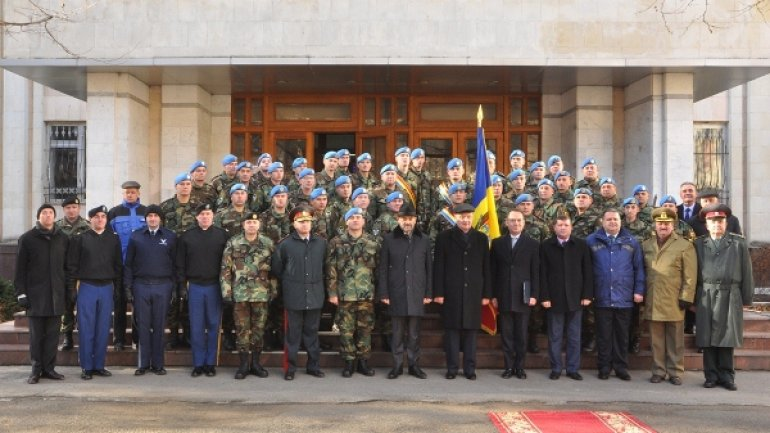 Moldovan soldiers to leave for Kosovo