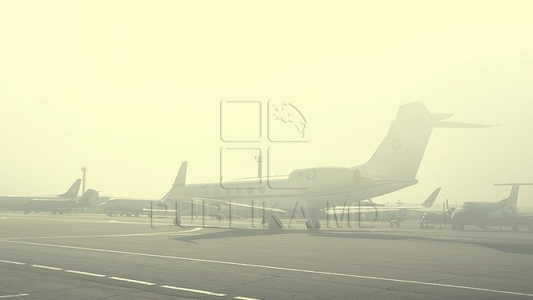 Heavy fog causes cancelled flights at Chisinau International Airport