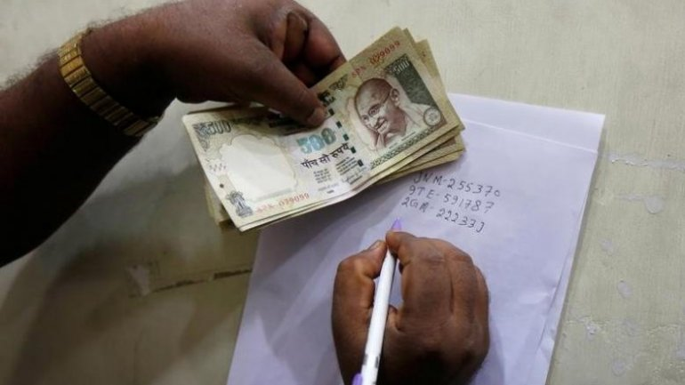 Indian banks get $44 billion of old-currency notes in four days