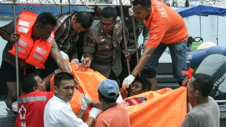 20 feared drowned as speedboat capsizes off Indonesian island