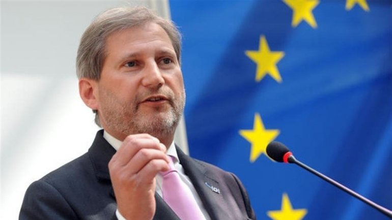 EU Comissioner Johannes Hahn: Pavel Filip assured me that Moldova is committed to European course
