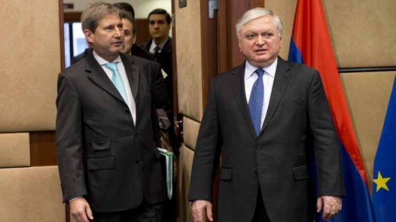 Johannes Hahn assesses as constructive informal meeting of EaP Foreign Ministers in Yerevan