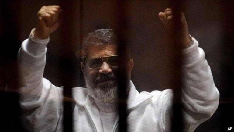 Appeals court annuls one of two life sentences of Egypt's ex-president Mohamed Morsi