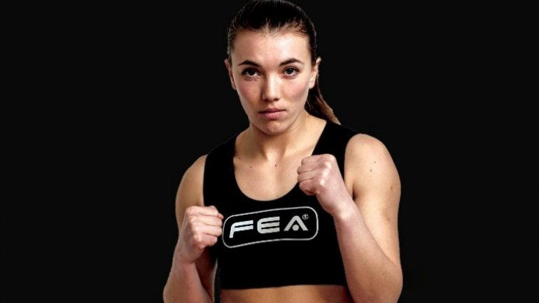 "Fighter Angela Cantir prepared for ""World Grand Prix"" KOK Gala"