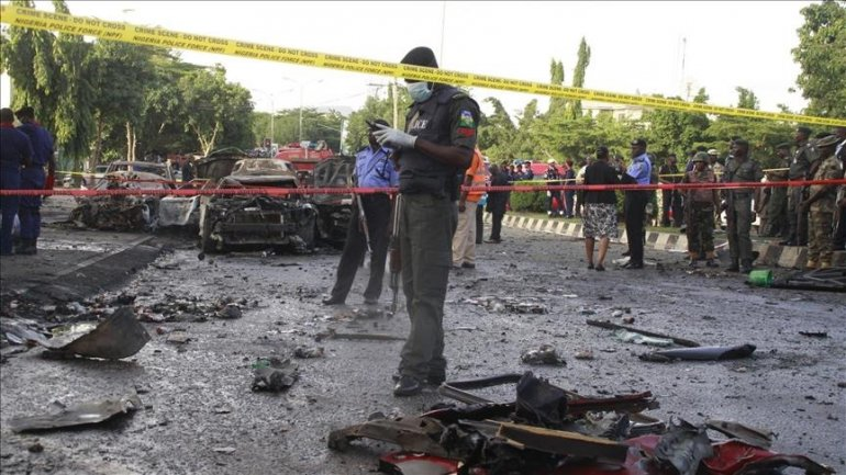 4 killed in minibus explosion in Northeastern Nigeria