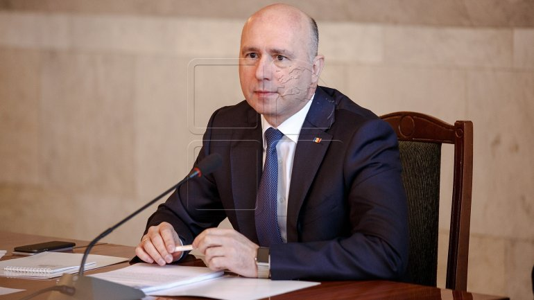 Pavel Filip: Moldovan citizen must be only winner of election, regardless of who is president