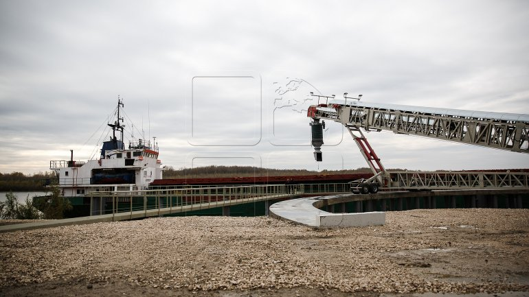 Grain terminal at Moldova's Giurgiulesti port to more than double capacity with EBRD loan (PHOTOREPORT)