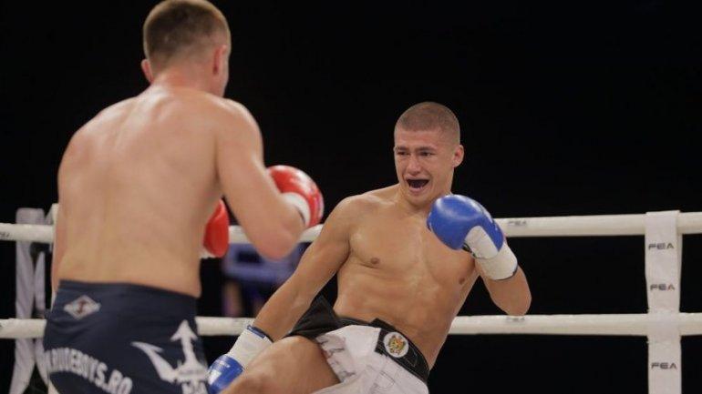 Stanislav Renita, first Moldovan fighter to participate in most prestigious K-1 gala