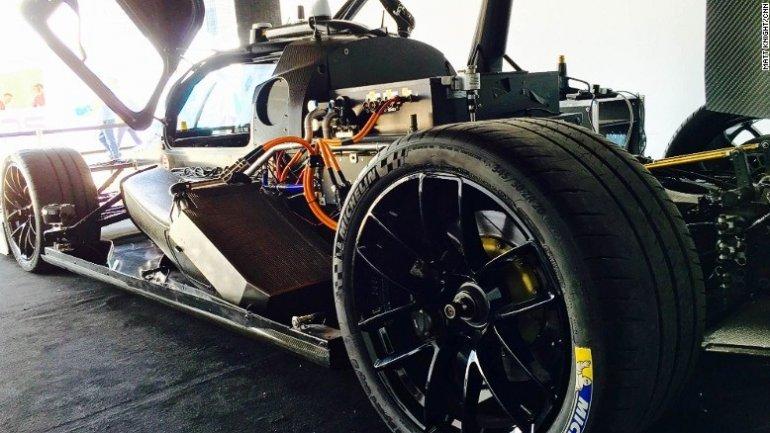 Driverless Roborace car makes street track debut in Marrakech