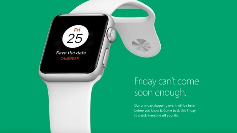 Apple teases a one-day Black Friday sale