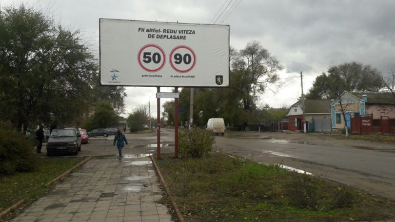 New information boards on national routes