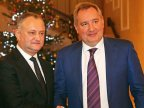 Igor Dodon meets Dmitry Rogozin at three in the morning after his inauguration as president