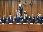 South Korean companies face rare broadcasted hearing in corruption case