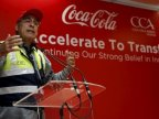 Coca-Cola CEO Muhtar Kent to step down in May, replaced by COO James Quincey