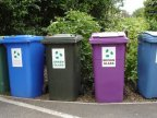 Recycling rates in England drop for first time