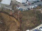 OUTRAGEOUS. Playground in Straseni village placed near construction hole (PHOTO)