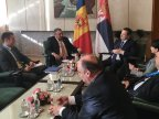 Moldovan foreign minister meets counterpart from Serbia