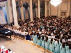 EXCEPTIONAL EVENING. Moldovan National Youth Orchestra ends winter concerts in PREMIERE