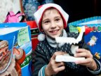 "Campaign ""House full of Christmas"": A family from Criuleni district receives gifts from Edelweiss"