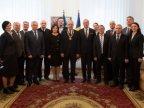 Romania decorates outgoing Moldovan president Nicolae Timofti