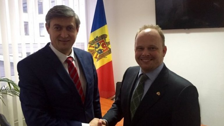 Ambassador Agree of Canada presents accreditation letters in Chisinau