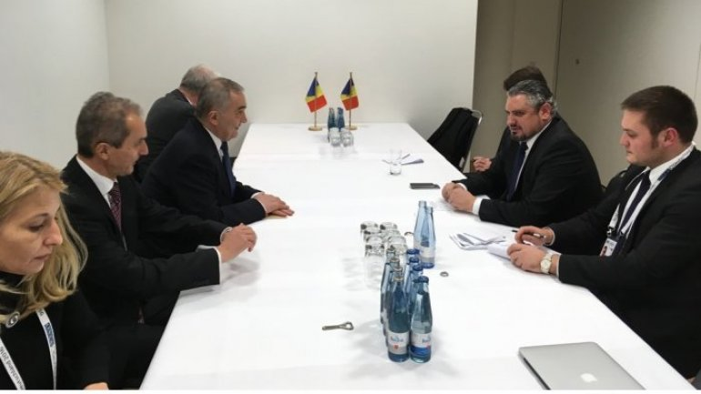 Moldovan foreign minister meets counterparts of Estonia, Slovakia
