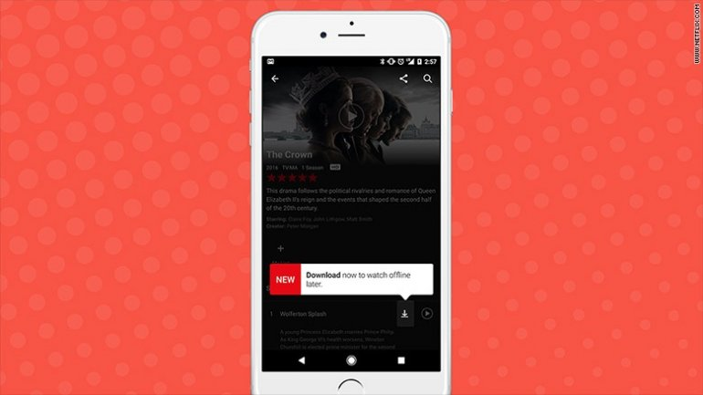 Netflix finally lets you download shows and movies to watch offline