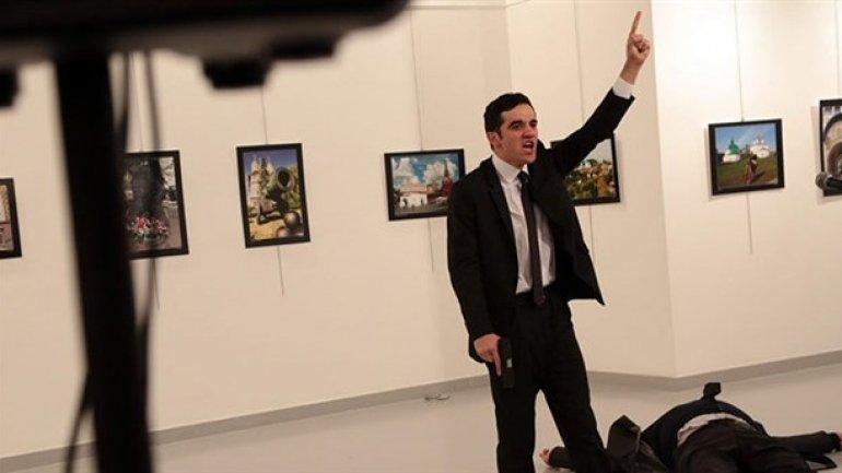 Russian ambassador Andrei Karlov fatally shot in gun attack in Turkey (PHOTO/VIDEO)