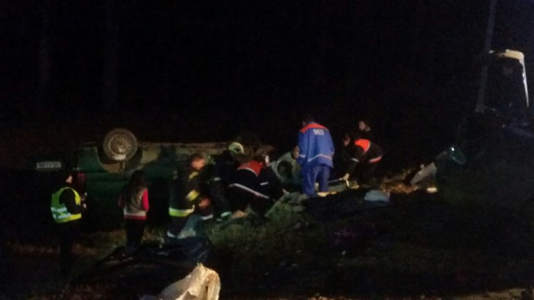 Consequences of outrageous car crash near Chisinau: Child in coma