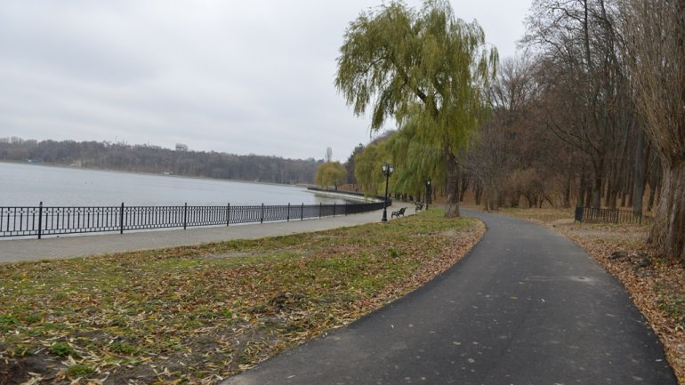 Construction of parkways and bike lanes completed in Valea Morilor Park (PHOTO)