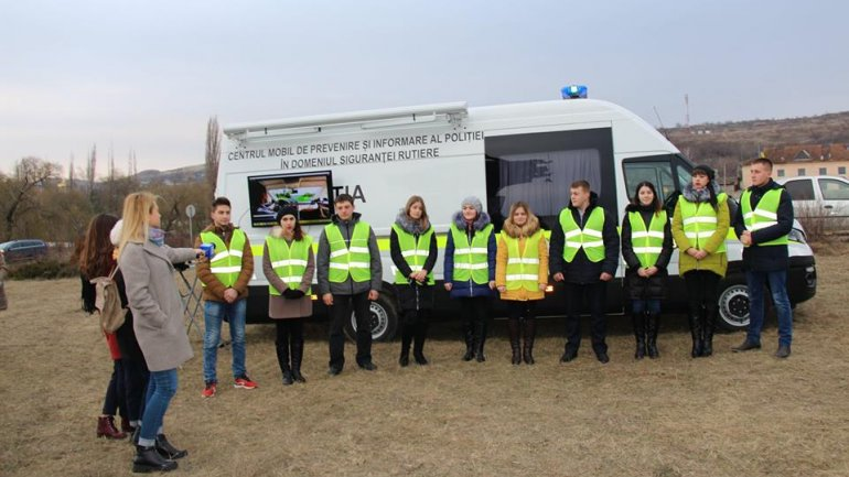 National Patrol Inspectorate conducts pilot project on road accidents prevention (PHOTOREPORT)