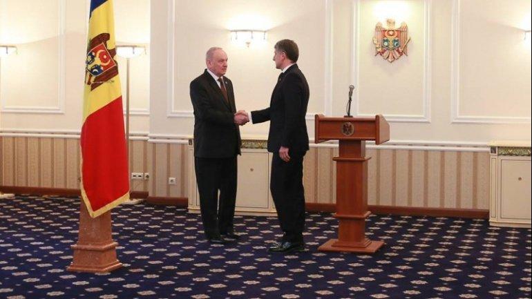 Nicolae Timofti signs decree on appointment of Eduard Harunjen as General Prosecutor
