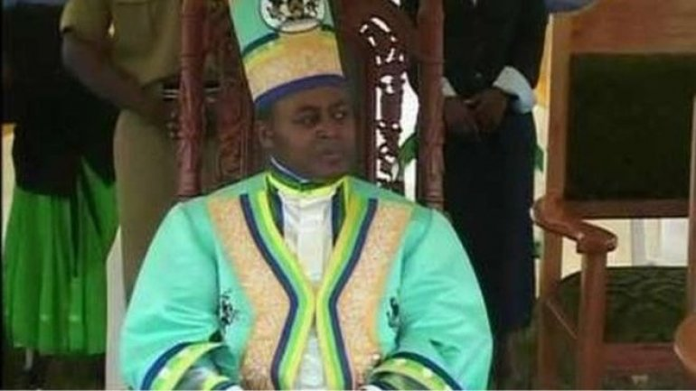 Ugandan king Charles Mumbere charged with terrorism