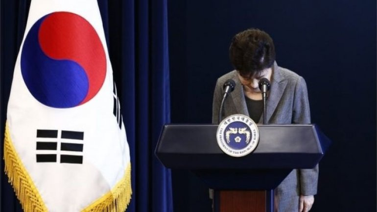 South Korean lawmakers vote to impeach leader Park Geun-hye