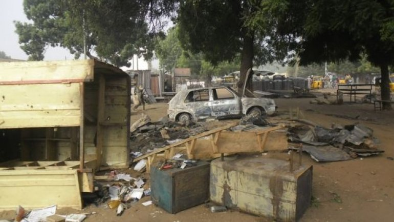 At least 30 persons dead, dozens injured in Nigeria suicide attack