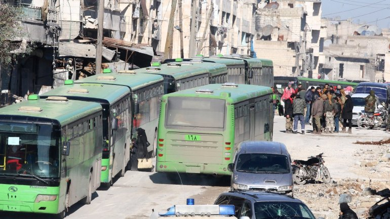 Hopes raised that evacuation could soon resume in Aleppo