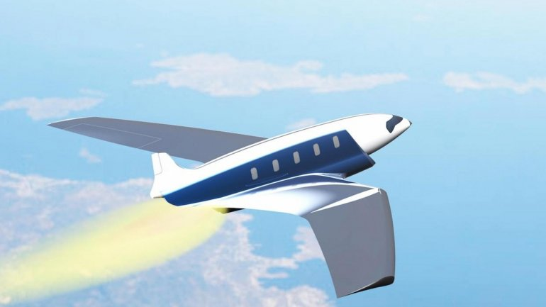 Designer creates fastest plane ever. Will fly around Earth in less than 100 minutes