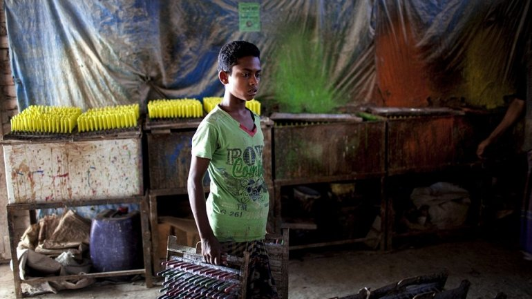 Bangladesh factory boy killed in air hose assault