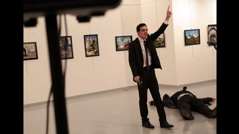Graphic video shows Russian ambassador shot (VIDEO)