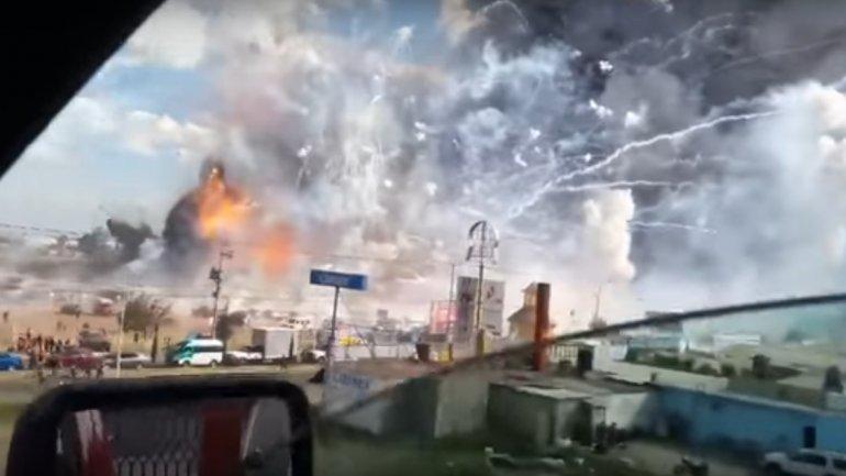 Dozens killed in Mexico fireworks blast (PHOTO/VIDEO)
